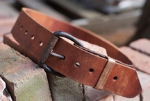 Leather Belts / by Jared DeSimio