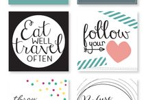 journaling cards free printable