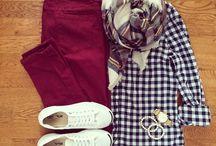 How to wear GINGHAM / How to wear gingham, how to style gingham, blue gingham shirt, red gingham shirt, black gingham shirt