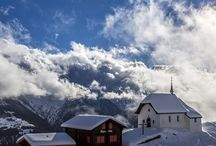 Winter in the Aletsch Arena