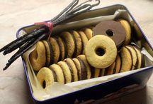 Retro vaníliás karika és pilóta keksz