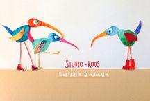 Studio-Roos / Al het moois van Studio-Roos maakt en/of doet!