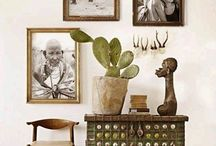 Ideas for grouping artwork / Framing and grouping of framed items, design and using space.