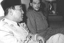 Soekarno and che guevara