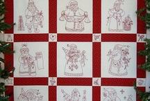 Redwork stitching / by Ellen Behan-Heinbockel