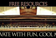 "FREE Piano Resources by Jerald Simon / I hope you enjoy these FREE RESOURCES I have created. Anything on this page can be copied, printed off, shared with piano teachers, piano students, and family, and friends. I have even made all of the books I have published available as ""sample PDF books"", where you can print off some or parts of the piano pieces from the books. If you like the sample books, you can purchase either the spiral bound book or the PDF version by visiting my SERVICES/PRODUCTS page."