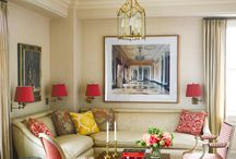 Decorating with Shades of Red