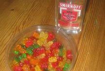 alcoholic drinks and treats