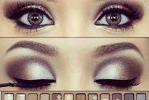 Eye & face makeup.