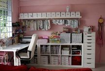 Ideas for my little piece of Heaven  / Craft room / office organisation, decor and furnishings..  / by Donna Leahy