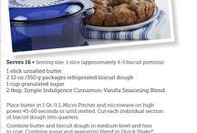Tupperware recipe
