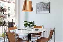 Copper in interiors