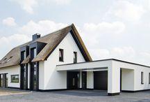 Rietgedekt woonhuis Boxtel
