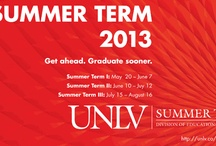 UNLV Summer Term 2013 / by UNLV College of Education