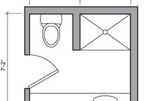 BATHROOM FLOOR PLANS