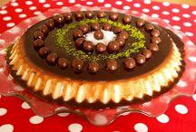 Çikolatalı irmik tatlısı