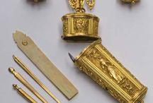 History - Chatelaines, keys etc.
