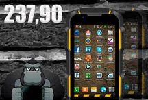 Movil Gorila / Colección fotográfica de nuestros teléfonos móviles gorila, resistentes al agua y a golpes ...