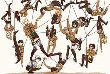 Shingeki no kyojin / Tablica poświęcona anime Atak Tytanów. Ostrzegam przed spoilerami.