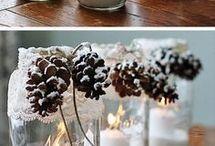 Vasetti con candela