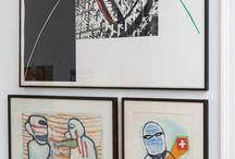 EXPOSITION MAISON & TRAVAUX  / Une sélection d'oeuvres de la collection du Fonds d'art contemporain de la Ville de Genève à la Villa Dutoit.  Exposition proposée par Josse Bailly et les étudiant-e-s du Master orientation TRANS – médiation enseignement de la HEAD-Genève du 16.01 au 09.02.14