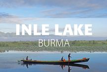 Inle Lake, Burma / ocated in the heart of the Nyaung Shwe valley in the southern Shan State, Inle Lake is the second largest natural lake in Myanmar. At 1328 meters above sea level, this vast and picturesque lake is renowned for its floating villages and gardens.