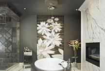 Unique Bathrooms Decor / A day at the spa with the comfort of your own home.