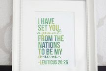 Bible Journaling- {Leviticus / by Lindsey Z.
