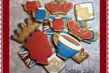 Royal 50's cake