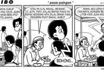Kartun Kompas Minggu / Kumpulan Kartun Sukribo, Konpopilan, Timun dan Panji Koming di Harian Kompas Edisi Minggu