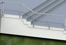 Essex, Connecticut / Ithaca Style cable railing. OCD rigging did an excellent installation job and really pays close attention to the details on every project they do.