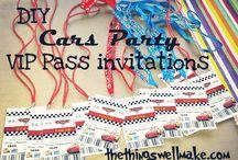 cars invites