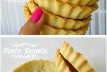 massa de torta de amendoas