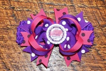 Hair Bows for Britta  / By Ladybug Creations
