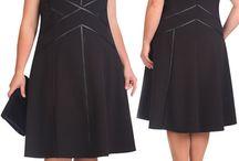 одежда для пышных дам