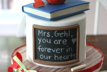Teacher's birthday cake
