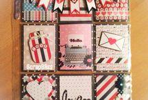 pocket card  letters