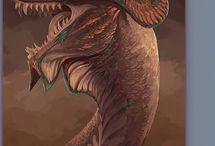 Dragons mineraux