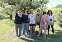 """Le visite dei blogger internazionali / La nostra azienda è stata una delle tappe del """"Cesenatico Bella Vita Blog Tour 2014"""", che permette ad alcuni selezionati blogger internazionali di alloggiare, visitare e """"assaggiare"""" la Romagna, in particolare Cesenatico e dintorni."""