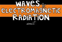 Waves and Electromagnetic Radiation Unit - Middle School Science / This board is dedicated to all things related to the Waves and Electromagnetic Radiation unit in middle school science! / by Ms. L