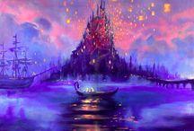 Disney Art / by Melissa Jo Cady