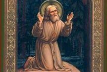 Άγιος Σεραφείμ τού Σαρωφ- Saint Seraphim of Sarov