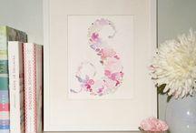 Florals / Watercolor floral compositions