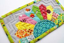 Inspiration for S&B Mini Quilt Swap / Quilts that I would love to receive from my Schnitzel & Boo Mini Quilt Swap partner
