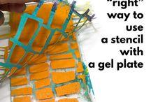 gel plate printing