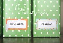 Organization ~ DIY / by Organizing Homelife