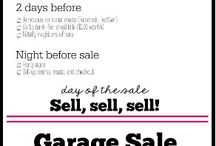 Organizing - Garage Sale