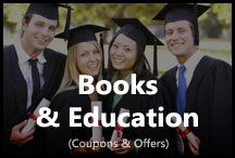 Books & Education / Get the latest offers and coupons on Books & Education. Get exclusive coupons from Amazon India, Flintobox, Magic Create and save on books or educational products.
