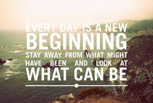 beginnings / by Brandi Bernoskie