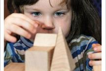 Play is the way! / Children learn best through play!